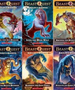 Beast Quest: Amulet of Avantia Box Set: 6 Books - Paperback