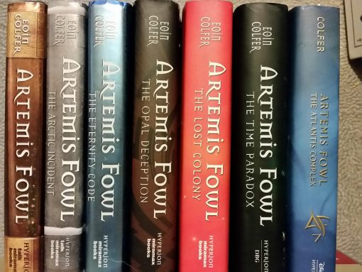 Artemis Fowl Complete Series Set Books 1-7 Hardcover