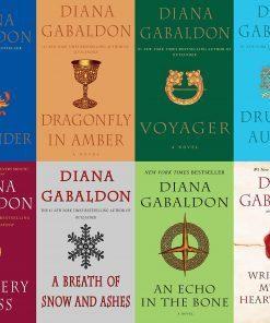 Diana Gabaldon Outlander Series 8 Book Set (1- 8) -- Like New
