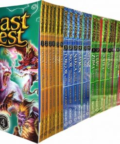 Beast Quest Collection-Series 1, 2, 3 and 4-- 24 Books Set Paperback