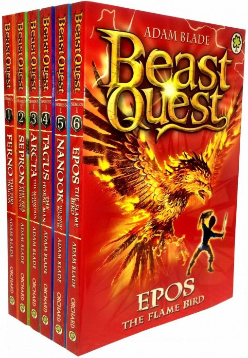 Beast Quest Collection-Series 1, 2, 3 and 4 - (24 Books) - by Adam Blade