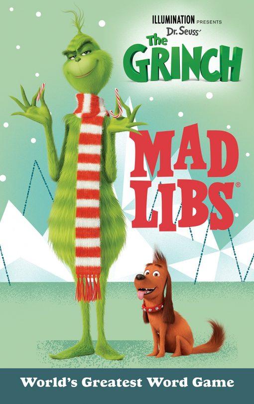 Illumination Presents Dr. Seuss' The Grinch Mad Libs Paperback- Sara Schonfeld (PB)