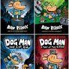Dog Man Collection 1-4 HardcoverUsed, Like New