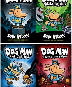 Dog Man Collection 1-4 HardcoverUsed, Like New