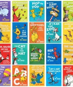The Wonderful World of Dr. Seuss 20 Reading Books Collection Set - Hardcover