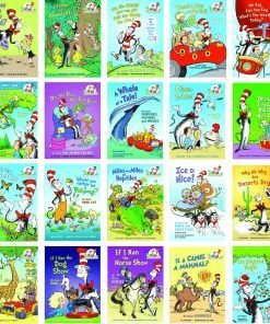 Dr. Seuss Cat in the Hat Learning Library Series 26 Book Collection Set-Hardcover