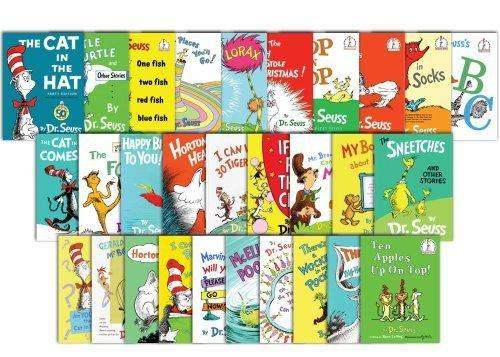 The Essential Dr. Seuss Collection [40 Book Set]-Hardcover!