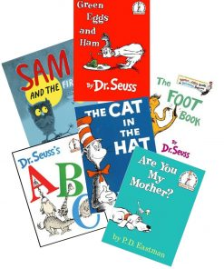Dr. Seuss 6 Book Set - Hardcover -- New