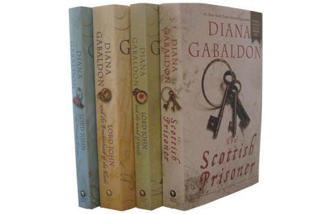 Diana Gabaldon's Lord John Series-4 Paperback Books -- New!