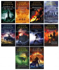 Steven Erikson 10 Books Collection Set (Vol. 1-10)