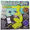For Kids Kid's Microscope-with 3 Magnifications(UP to 450X): Discover Hidden Worlds (Yellow)