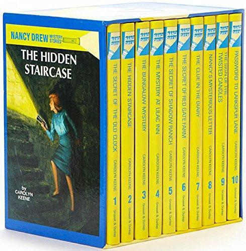 The Nancy Drew Mystery Stories Collection Set 1-10 Hardcover