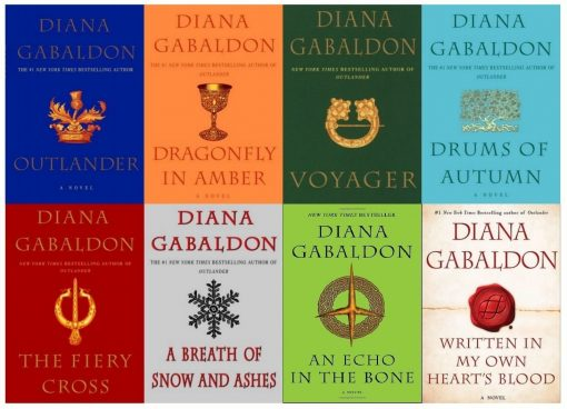 Diana Gabaldon's Outlander Series 8 Book Set (1- 8) Paperback -- New