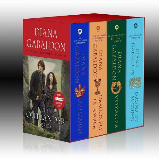 Outlander 4-Copy Boxed Set: Paperback