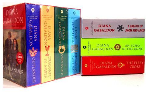 Diana Gabaldon-The Outlander Series 7-Book Paperback Set -- New