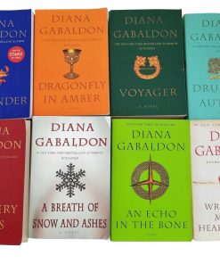 Big Size Diana Gabaldon's Outlander Series - 8 Book Trade Paperback Set