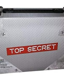 CHILDREN'S TOP SECRET-SPY KIT-Become the ultimate spy with this cool case full of spy equipment.