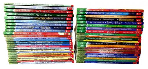 Magic Tree House Complete Series Paperback Book Set: Books # 1 - 47 By Mary Pope Osborne--Used-Like New!