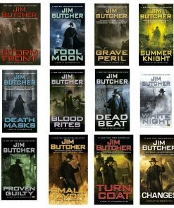 Dresden Files by Jim Butcher Novel Set Books 1-16 Paperback – Unabridged, January 1, 2013