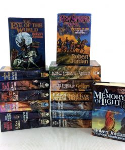 The Wheel of Time: Complete Set of 14 Hardcover – January 1, 2010