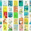 Dr. Seuss Ultimate Book Set- 60 Hardcover Books With 2 Felt Hats!