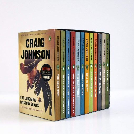 The Longmire Mystery Series Boxed Set Volumes 1-12: The First Twelve Novels (A Longmire Mystery) Paperback – September 4, 2018