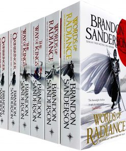 The Stormlight Archive Series 6 Books Collection Set by Brandon Sanderson (Words of Radiance Part 1 & 2, The Way of Kings Part 1 & 2 & Oathbringer Part 1 & 2) Paperback – January 1, 2020 by Brandon Sanderson