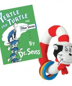 Yertle the Turtle and Other Stories by Dr. Seuss: Hardcover With Cat In The Hat Ring- Brand New