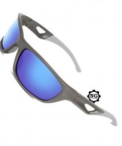 Polarized Sports Sunglasses Shatter Resistant Fishing, Cycling Glasses for Men-Women UV Protection Glasses