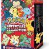 Adventure Collection (Pokémon Boxed Set #2: Books 9-16) Paperback – August 1, 2018