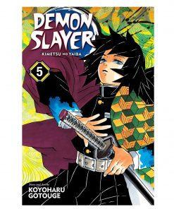 Demon Slayer: Kimetsu no Yaiba Vol-1-5 Books Collection set Paperback – January 1, 2019